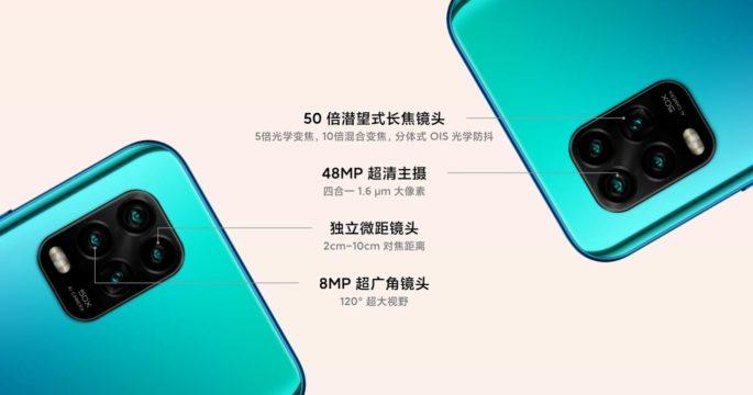Xiaomi Mi 10 Youth bringer firkamera med periskopssensor opp til 50x