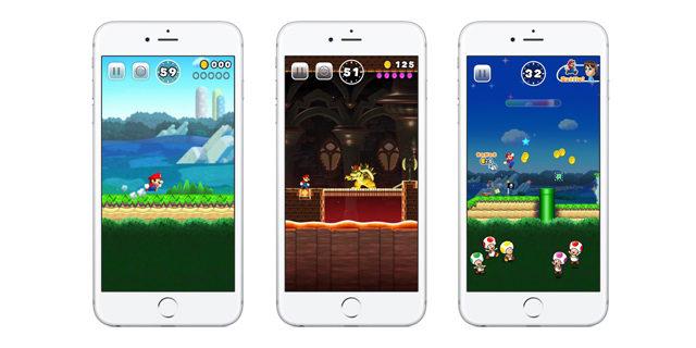 Super Mario Run har ikke frakoblet modus.