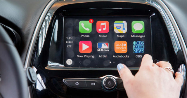CarPlay med iOS 11