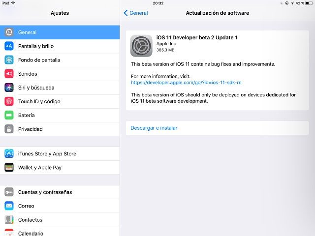 beta 2 iOS 11