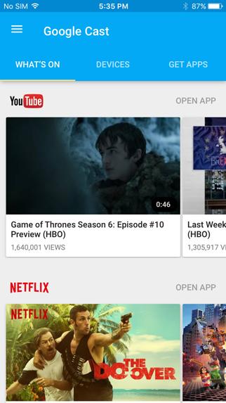 Beste iPhone- og iPad-apper for Chromecast.
