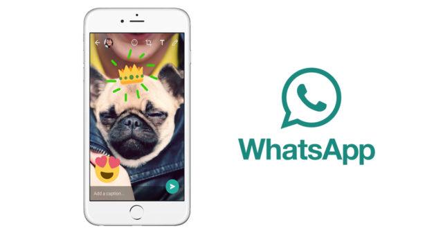 WhatsApp redigerer bilder av erika