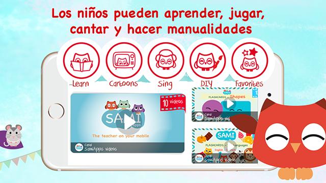 Barnesikker videospiller for iPhone og iPad