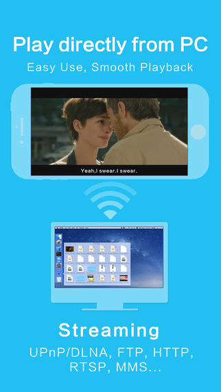 OPlayer HD for iPhone og iPad.