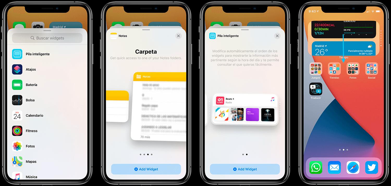 widgets alternativer