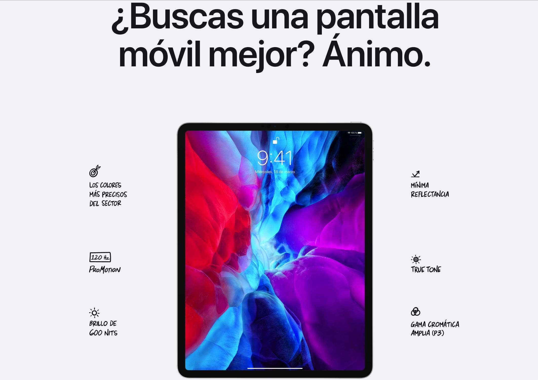 iPad Pro-skjerm