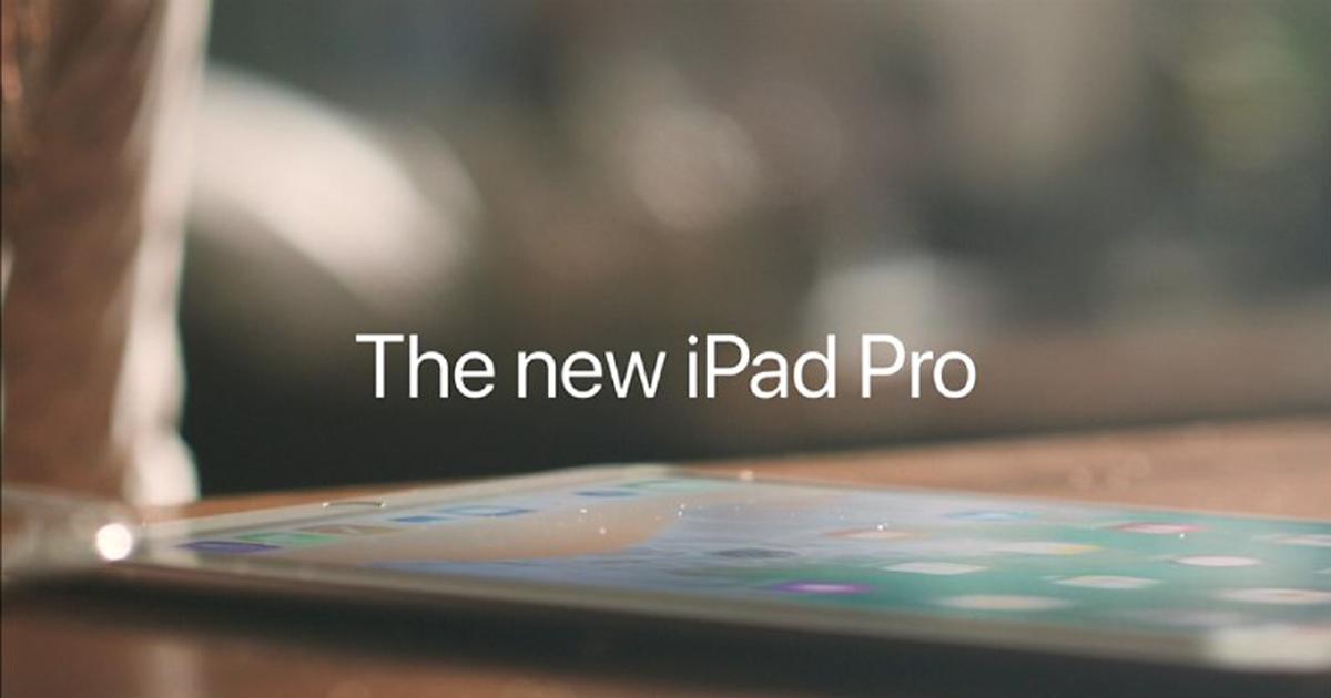 Ny 10,5-tommers iPad Pro og ny 12,9-tommers iPad Pro!