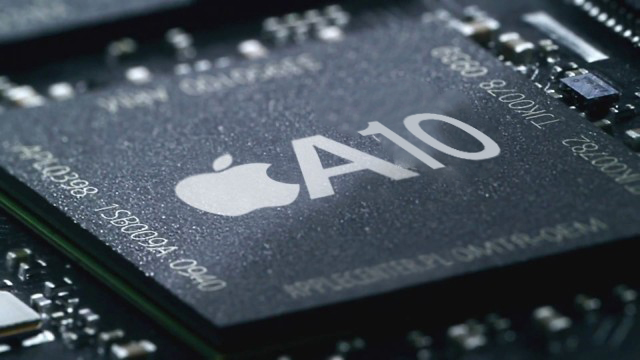 Geekbench-brikke A10x fra Apple
