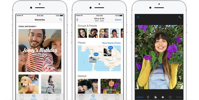 iOS 10 på iPhone 5 og 5c.