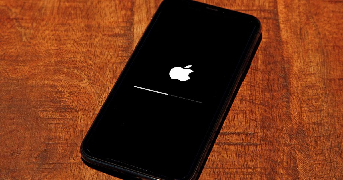 Oppdater iOS