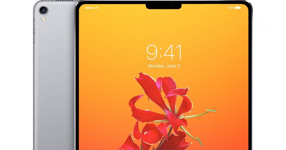Vil du kjøpe en iPad med et hakk som på iPhone X?