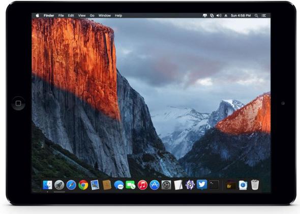 OS X El Capitan kunne komme til iPad Pro.