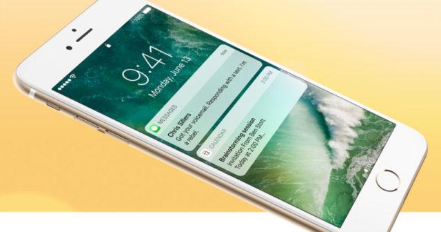 Rike varslinger for iOS
