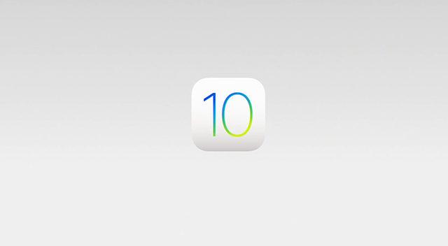 IOS 10 utgivelse