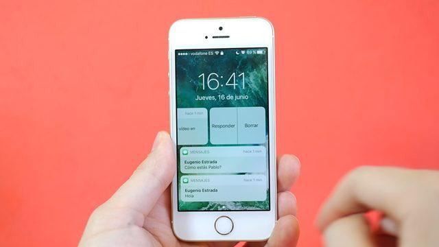 Enheter som er kompatible med iOS 10