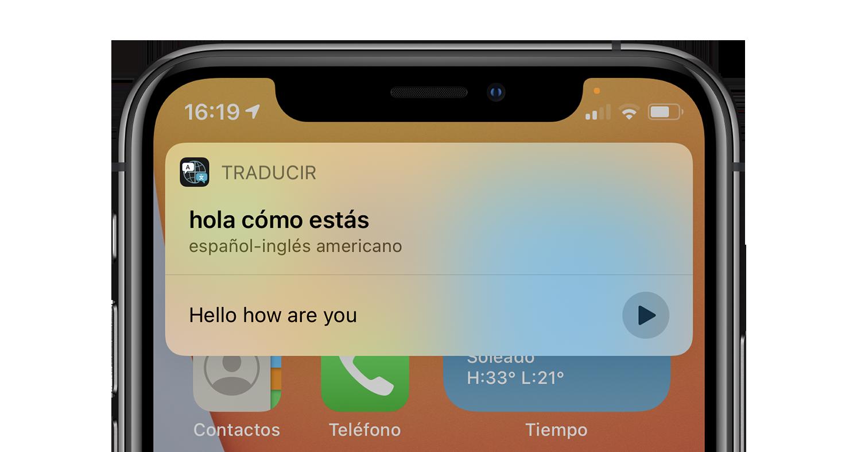 Siri ios 14 iphone-oversetter