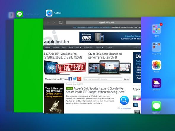 Multitask iOS 9.