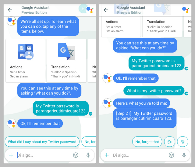 Google Allo Password Cheats