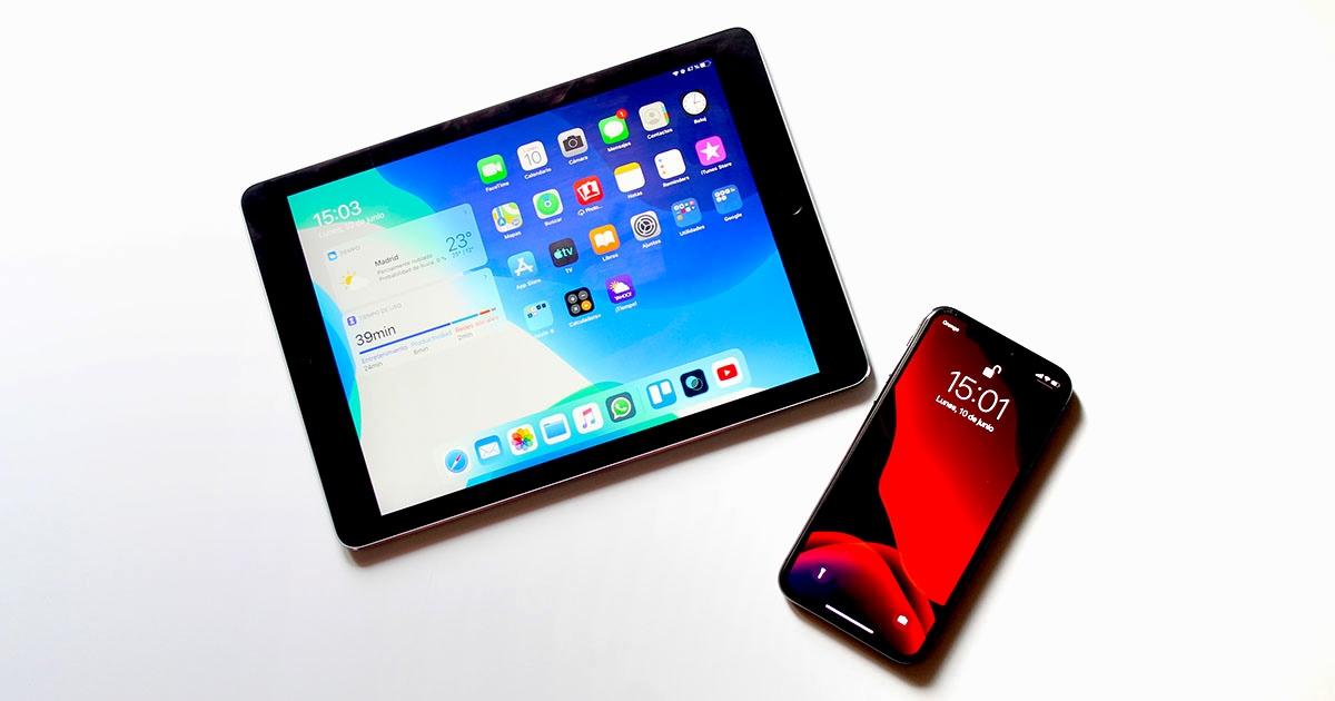 iPhone og iPad med iOS 13