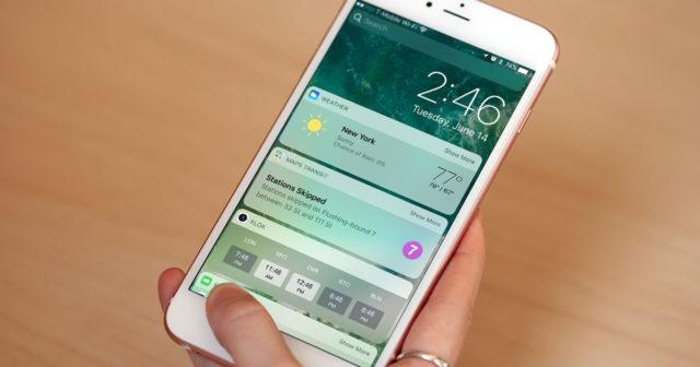 iOS 10-feil