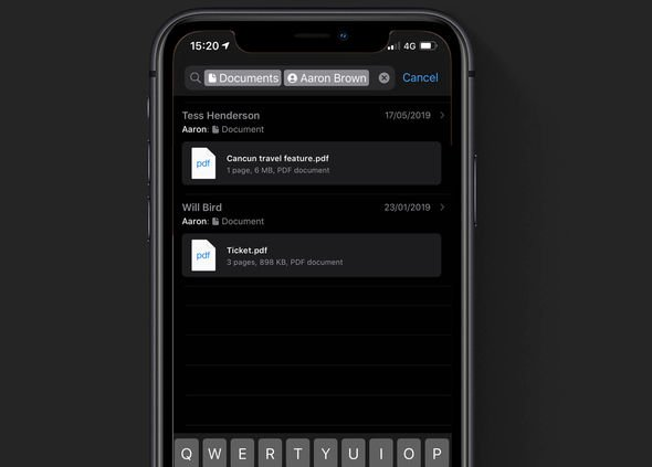 WhatsApp-oppdatering på iPhone