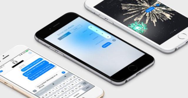 iOS 11 funksjoner