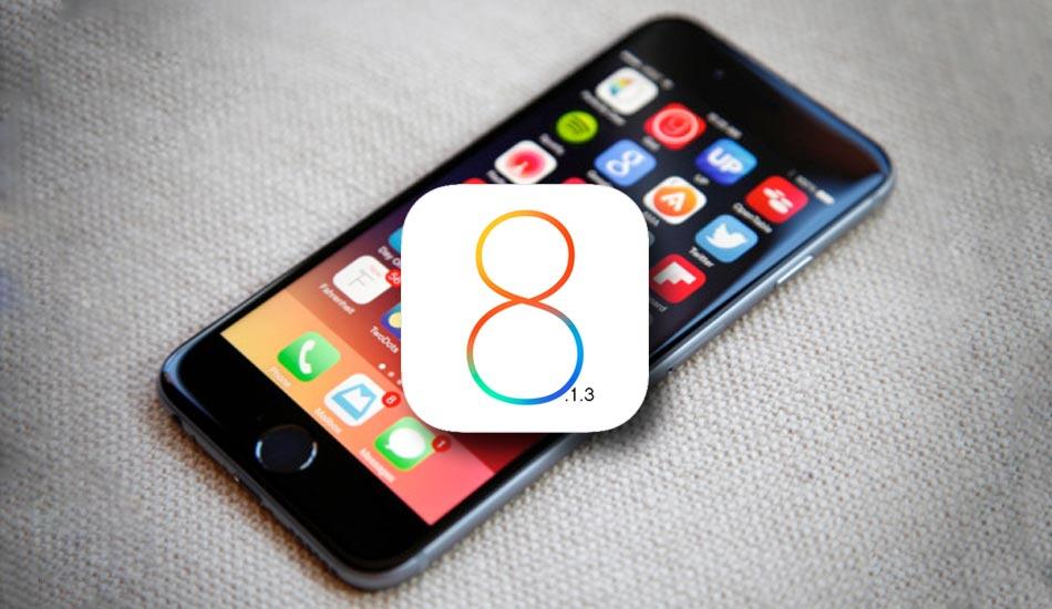 En ny iOS 8.1.3-versjon kan komme neste uke