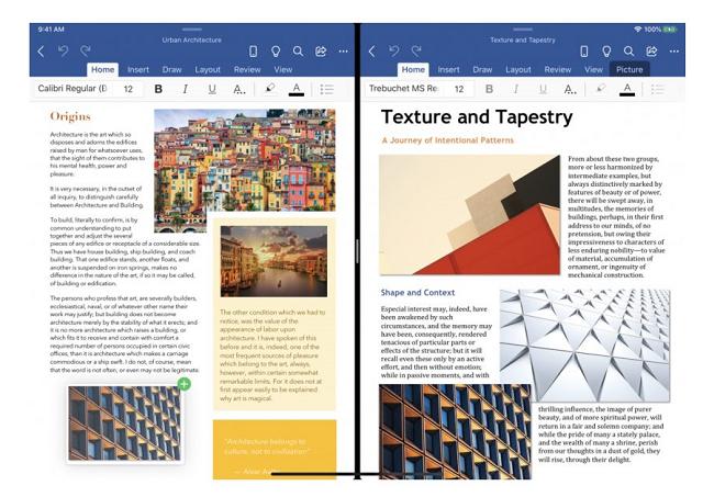 Microsoft iPad flervindu