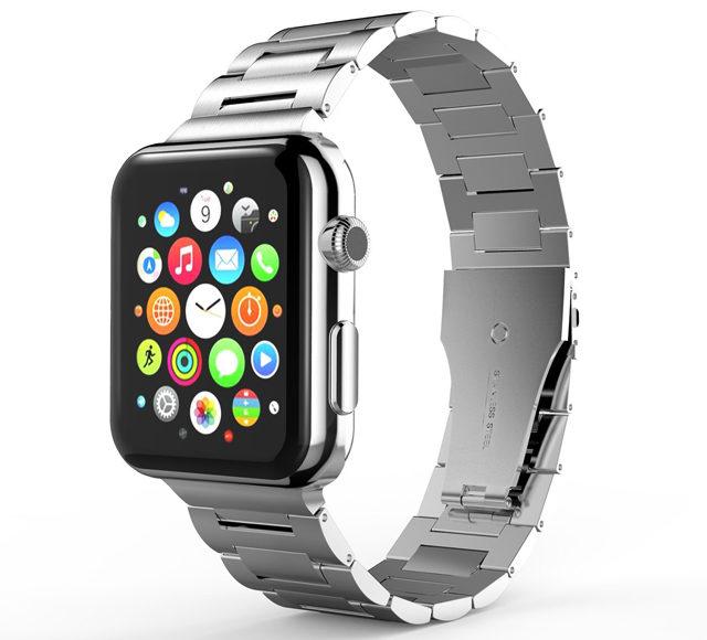 Beste Apple Watch-stropper i rustfritt stål.