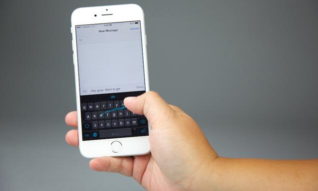 Hurtigmeny for iOS 7 på låseskjermen |  Konsept