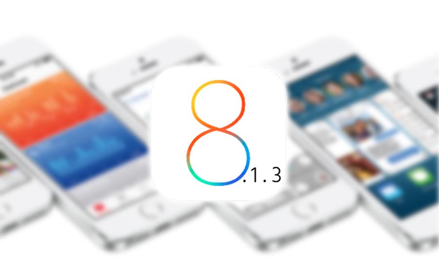 IOS 8.1.3 Aktivitetslogger får deg til å tro at den snart kommer
