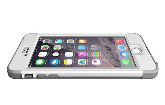 Sammenligning mellom grensesnittet til iOS 6 og iOS 7