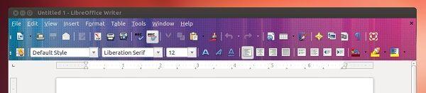 LibreOffice 4.0 med Firefox-temaer