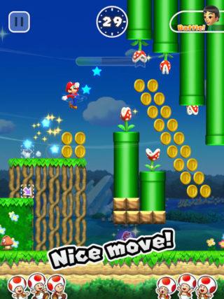 Super Mario Run-skjermbilde