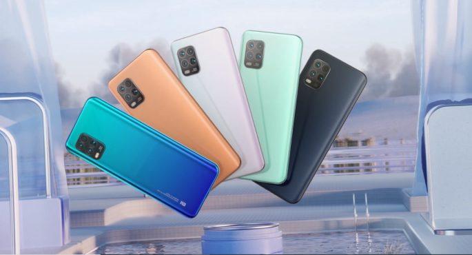 Xiaomi Mi 10 Youth kommer med et attraktivt design og i forskjellige farger