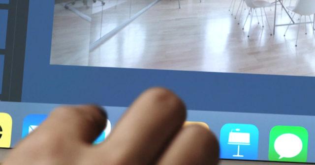 iOS 11 på iPad