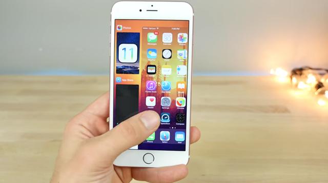 Mulige iOS 11-funksjoner.