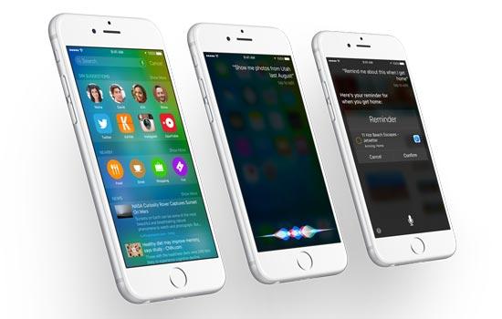 iOS 8.1, 8.2 og 8.3, planlagte oppdateringene for 2015
